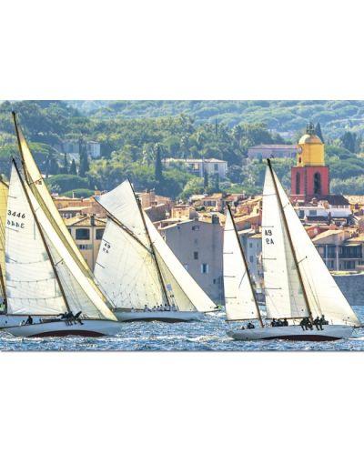 Puzzle Educa de 1000 piese - Navigand in Saint-Tropez - 2