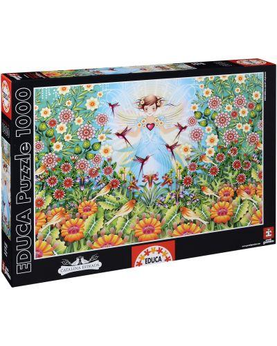 Puzzle Educa de 1000 piese - Gradina magica, Catalina Estrada - 1