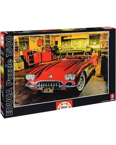 Puzzle Educa de 1500 piese - Automobil retro - 1