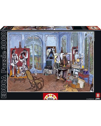 Puzzle Educa de 3000 piese - Atelierul lui Picasso - 1