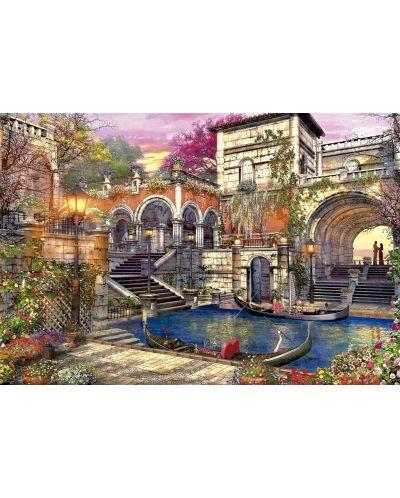 Puzzle Educa de 3000 piese - Romantica in Venetia, Dominic Davison - 2