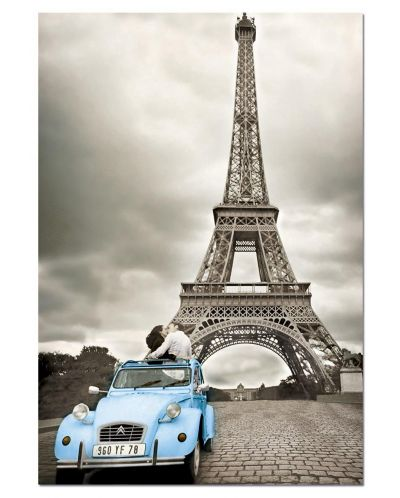 Puzzle Educa de 500 piese - Turnul Eiffel, Paris - 2