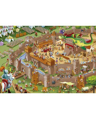 Puzzle Educa de 1000 piese - Asezare medievala - 2