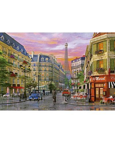Puzzle Educa de 5000 piese - Strada in Paris, Dominic Davison - 2