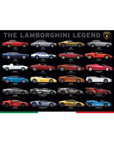 Puzzle Eurographics de 1000 piese – Legenda Lamborghini - 2