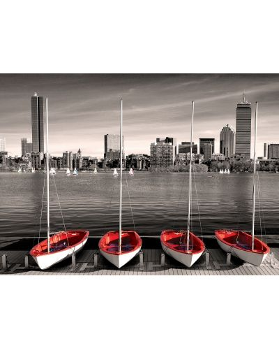 Puzzle Eurographics de 1000 piese – Portul din Boston  - 2