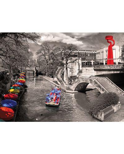 Puzzle Eurographics de 1000 piese – River Wok, San Antonio - 2