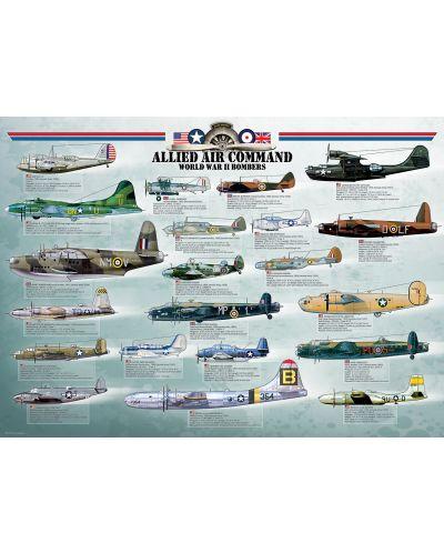 Puzzle Eurographics de 1000 piese – Bombardiere aliate din  Al dolea razboi mondiaal - 2