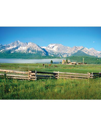 Puzzle Eurographics de 1000 piese – Muntii Sawtooth in Idaho - 2
