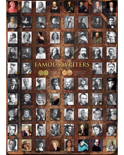 Puzzle Eurographics de 1000 piese – Scriitori cunoscuti - 2