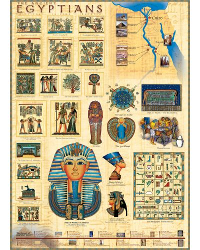 Puzzle Eurographics de 1000 piese – Egiptenii - 2