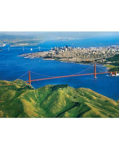 Puzzle Eurographics de 1000 piese – Golden Gate Bridge in California - 2