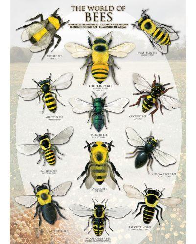 Puzzle Eurographics de 1000 piese – Lumea albinelor - 2