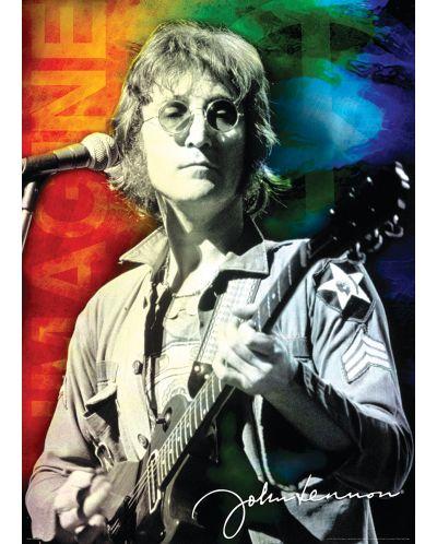 Puzzle Eurographics de 1000 piese – John Lennon in New York - 2