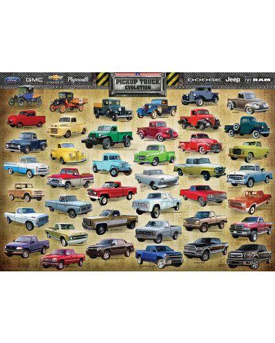 Puzzle Eurographics de 1000 piese – Dezvoltarea camioanelor - 2