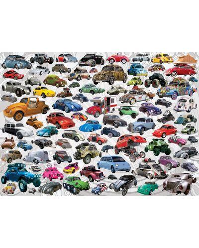 Puzzle Eurographics de 1000 piese – Volkswagen broscuta - 2