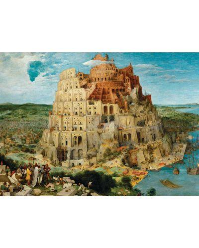 Puzzle Eurographics de 1000 piese – Turnul Babel, Pieter Brueghel cel Batran - 2