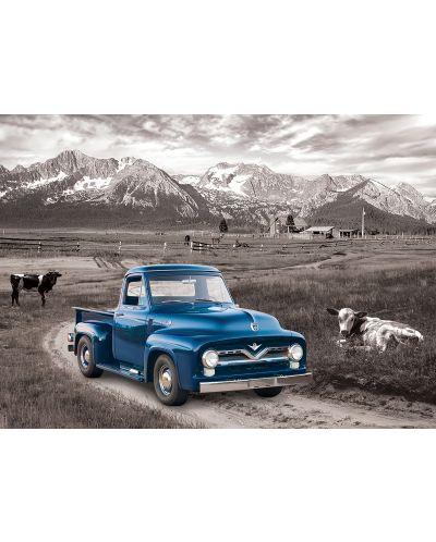 Puzzle Eurographics de 1000 piese – Autoturisme clasice  Ford din anul 1954 - 2