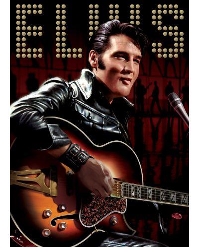 Puzzle Eurographics de 1000 piese – Portretul lui Elvis Presley - 2
