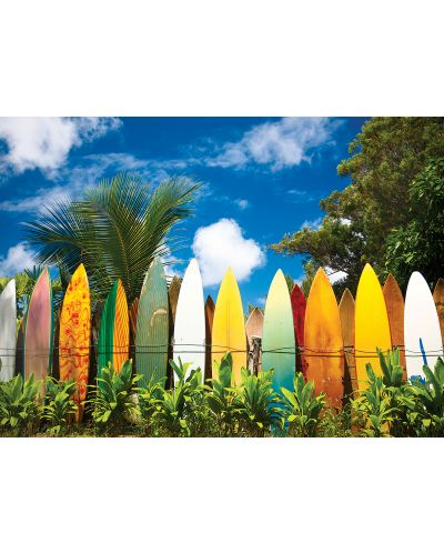 Puzzle Eurographics de 1000 piese – Paradisul surferilor, Hawai - 2