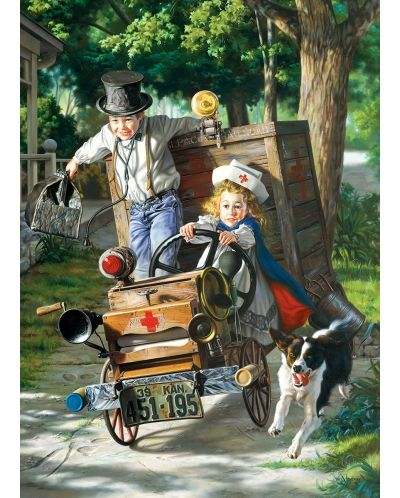 Puzzle Eurographics de 1000 piese – Vine in ajutor, Bob Byerley - 2