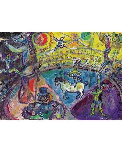 Puzzle Eurographics de 1000 piese – La circ, Mark Chagall - 2