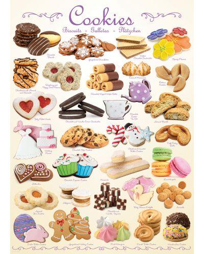 Puzzle Eurographics de 1000 piese – Biscuiti - 2