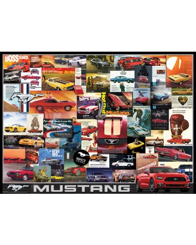 Puzzle Eurographics de 1000 piese – Ford Mustang - 2