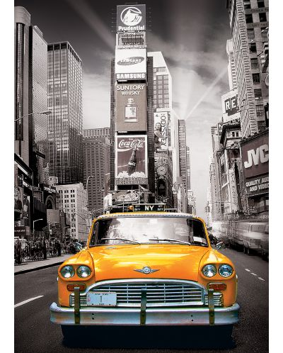 Puzzle Eurographics de 1000 piese – Taxi in New York - 2