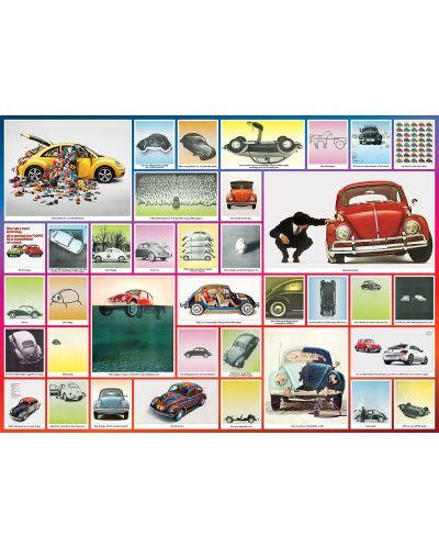 Puzzle Eurographics de 1000 piese – VW Beetle  - 2