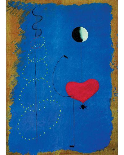 Puzzle Eurographics de 1000 piese – Balerina in albastru, Joan Miro - 2