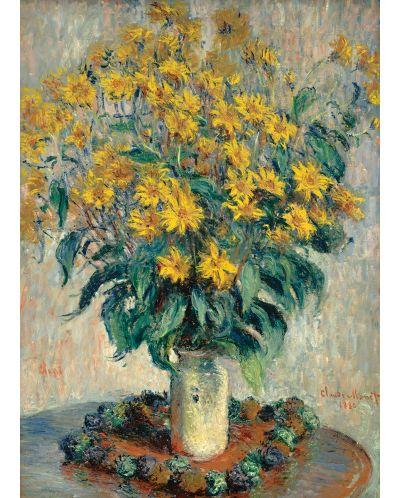 Puzzle Eurographics de 1000 piese – Topinamburul, Claude Monet - 2