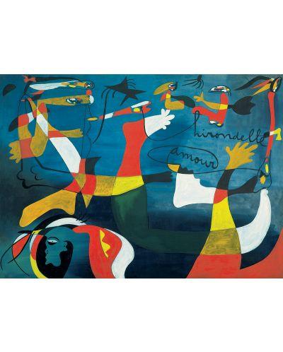 Puzzle Eurographics de 1000 piese – Iubire amara, Joan Miro - 2