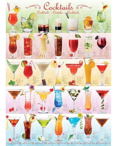 Puzzle Eurographics de 1000 piese – Cocktail-uri - 2