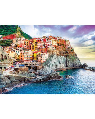 Puzzle Eurographics de 1000 piese – Cinque Tere, Italia - 2
