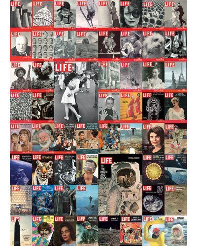 Puzzle Eurographics de 1000 piese – Colaj retro pe copertile revistei LIFE - 2