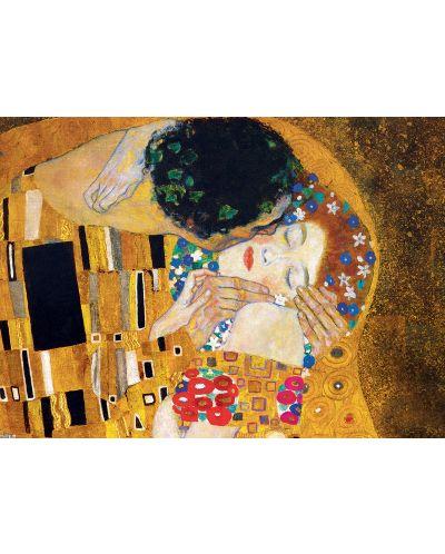 Puzzle Eurographics de 1000 piese – Sarutul, Gustav Klimt - 2