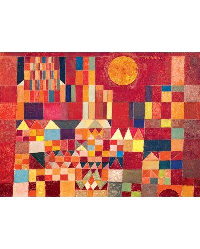 Puzzle Eurographics de 1000 piese – Castel si Soare, Paul Klee - 2