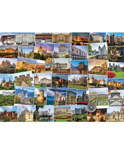Puzzle Eurographics de 1000 piese – Calatorie la castelele si palatele din lume - 2