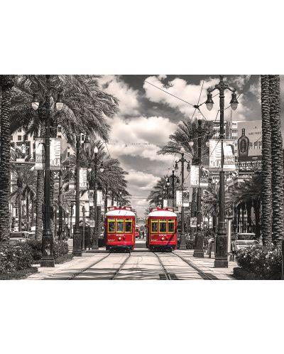 Puzzle Eurographics de 1000 piese – Tramvaiele din New Orleans - 2