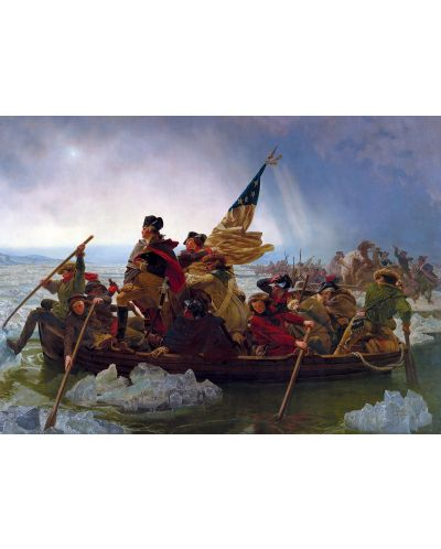 Puzzle Eurographics de 1000 piese – Washington traverseaza Delaware, Emanuel Leutze - 2