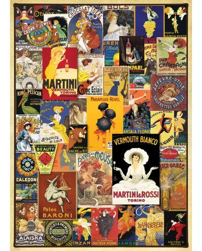 Puzzle Eurographics de 1000 piese – Postere retro - 2
