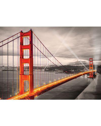 Puzzle Eurographics de 1000 piese – Podul Golden Gate, San Francisco - 2