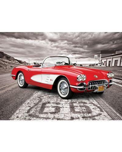 Puzzle Eurographics de 1000 piese – Autoturisme clasice Chevrolet din anul 1959 - 2
