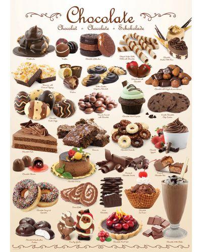 Puzzle Eurographics de 1000 piese – Ciocolata - 2