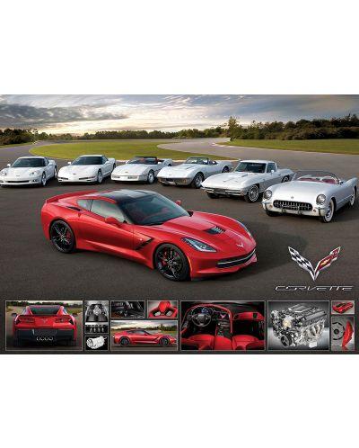 Puzzle Eurographics de 1000 piese – Corvette Stingray - 2