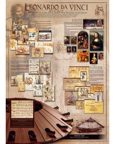 Puzzle Eurographics de 1000 piese – Geniul lui Leonardo da Vinci - 2