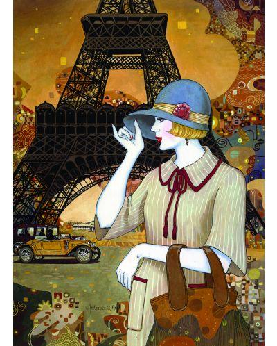 Puzzle Eurographics de 1000 piese – Aventura in Paris, Helena Lahm - 2