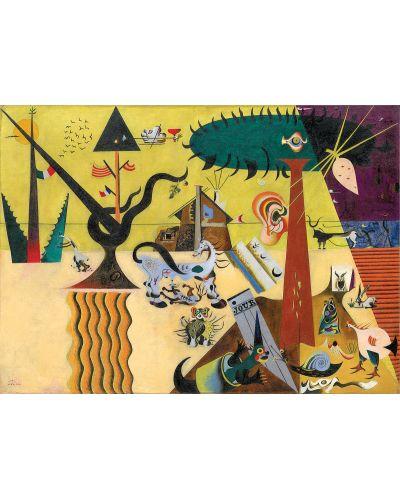 Puzzle Eurographics de 1000 piese – Campuri arate, Joan Miro - 2