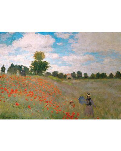 Puzzle Eurographics de 1000 piese – Camp cu maci, Claude Monet - 2